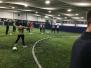 Football training at Soccer kings