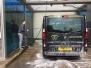 Washing the vehicles